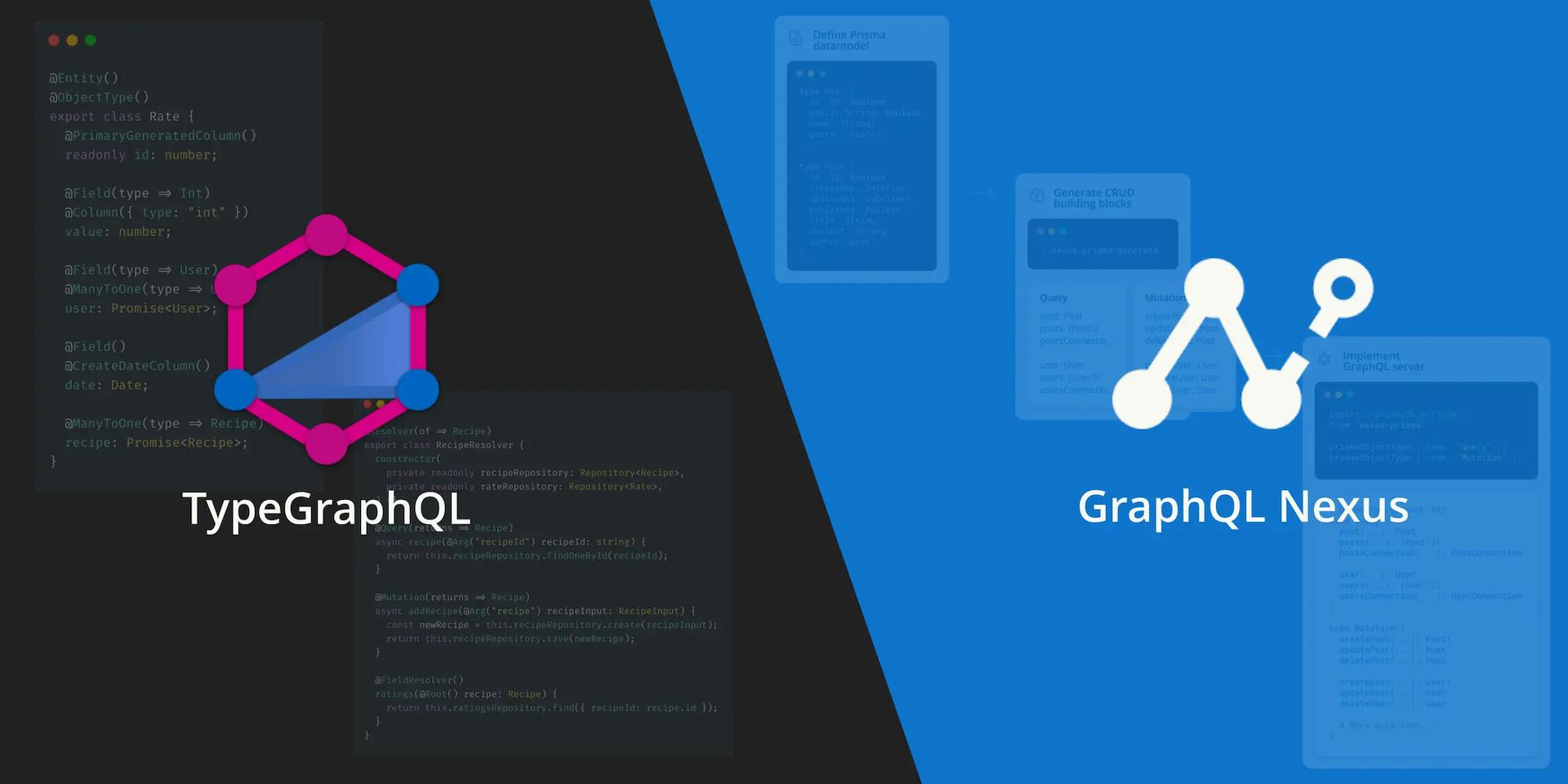 TypeGraphQL and GraphQL Nexus—A Look at Code-First APIs 👀